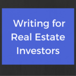 Infographic: Writing for Real Estate Investors